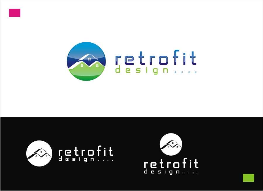Logo Design by Private User - Entry No. 26 in the Logo Design Contest Inspiring Logo Design for retrofit design.