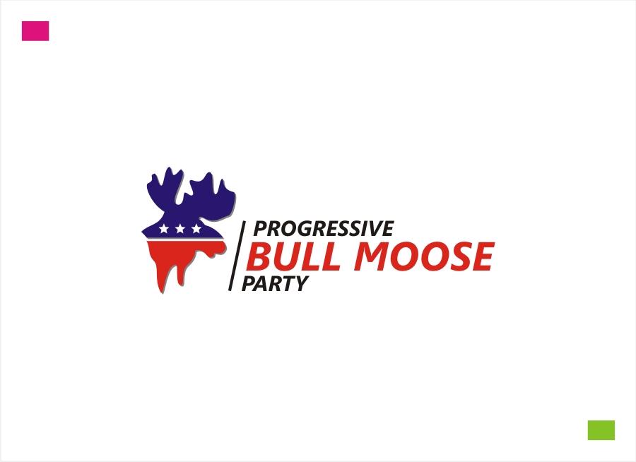 Logo Design by Private User - Entry No. 53 in the Logo Design Contest Progressive Bull Moose Party Logo Design.