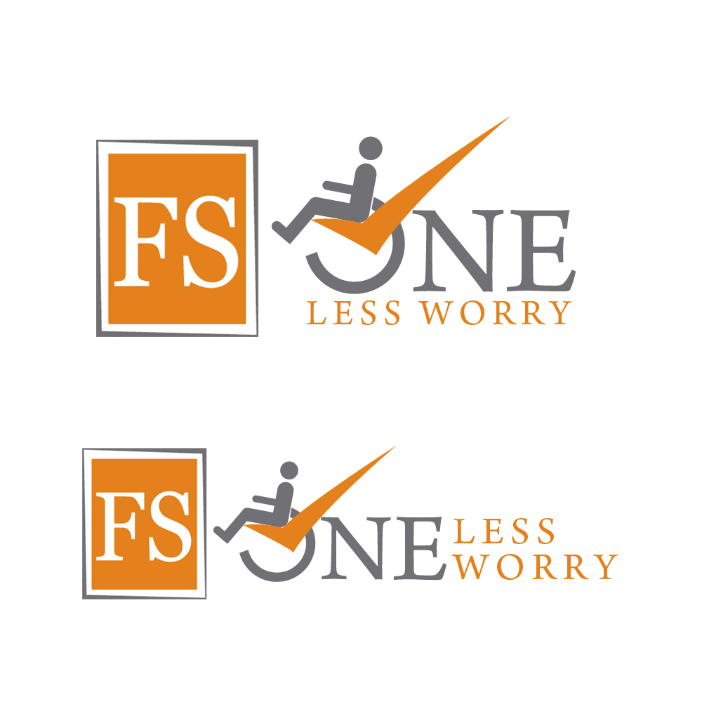 Logo Design by omARTist - Entry No. 124 in the Logo Design Contest Creative Logo Design for FS - One Less Worry.