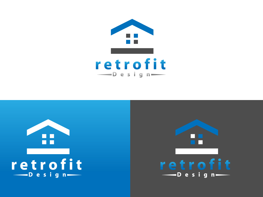 Logo Design by Jagdeep Singh - Entry No. 31 in the Logo Design Contest Inspiring Logo Design for retrofit design.