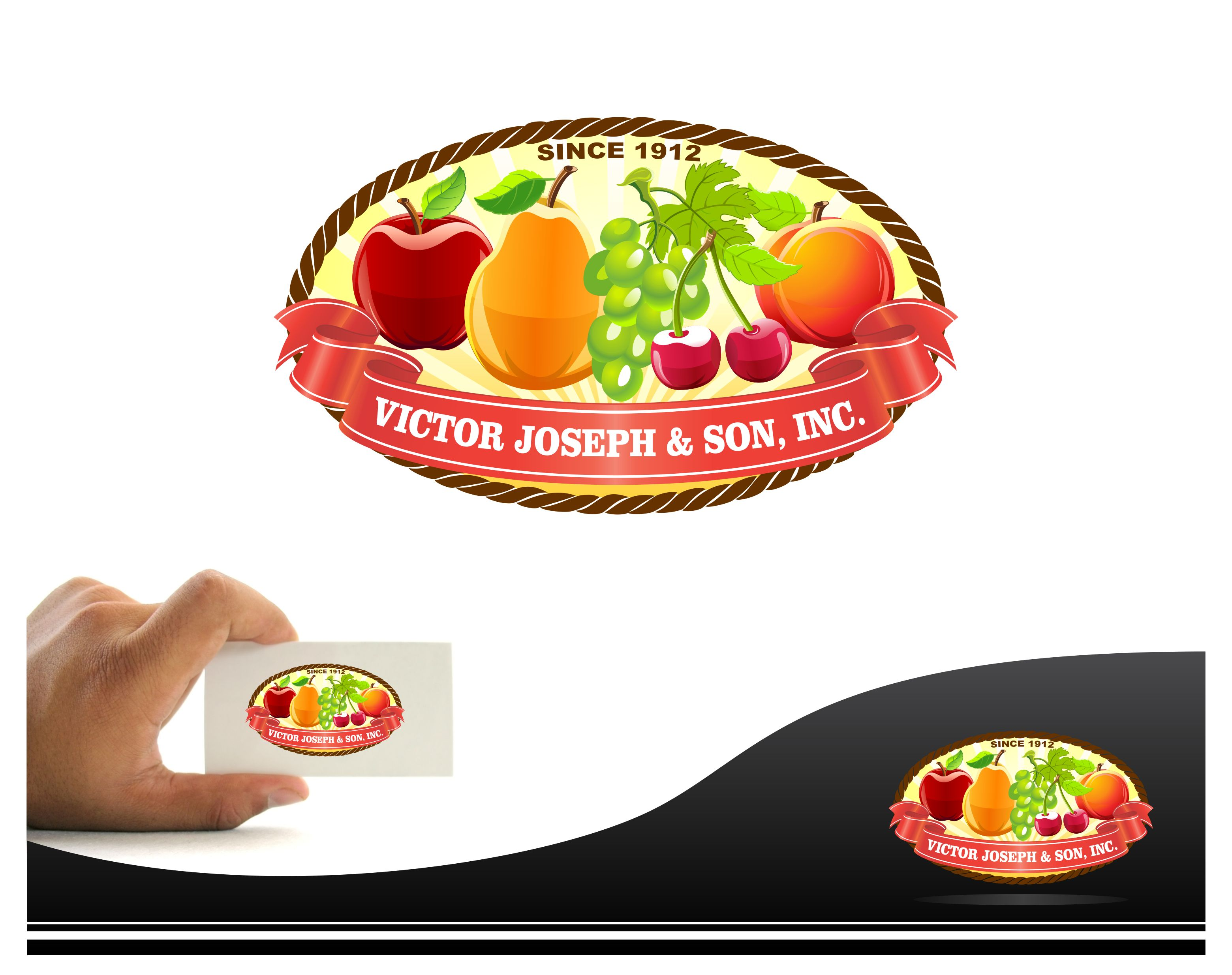 Logo Design by joca - Entry No. 178 in the Logo Design Contest Imaginative Logo Design for Victor Joseph & Son, Inc..