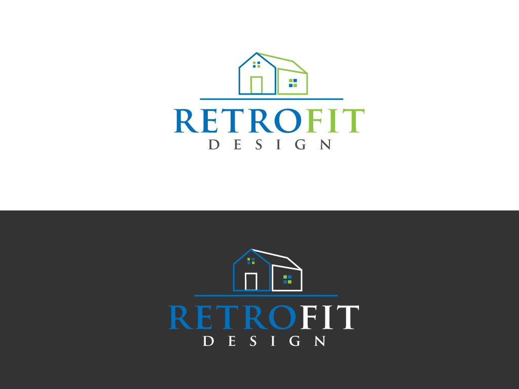 Logo Design by Jagdeep Singh - Entry No. 36 in the Logo Design Contest Inspiring Logo Design for retrofit design.