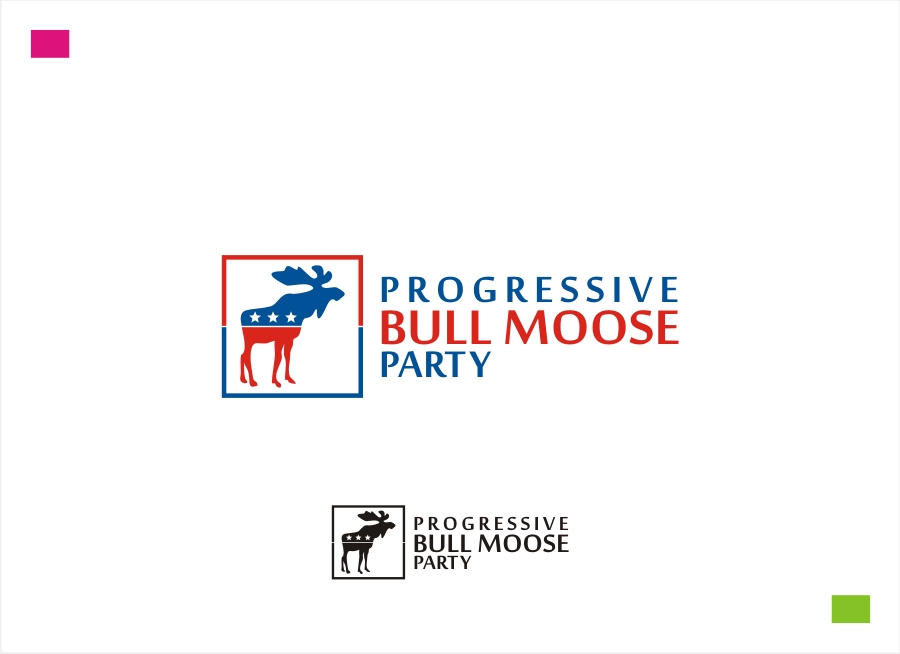 Logo Design by Private User - Entry No. 57 in the Logo Design Contest Progressive Bull Moose Party Logo Design.