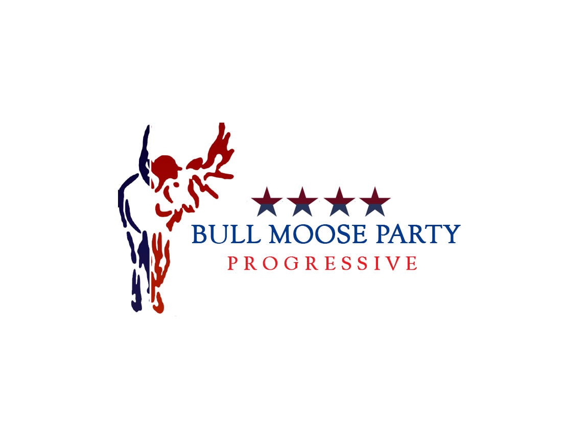 Logo Design by Arief Yuneldi - Entry No. 58 in the Logo Design Contest Progressive Bull Moose Party Logo Design.