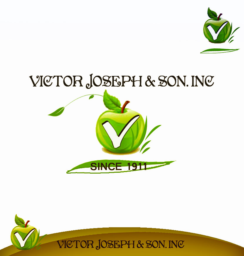 Logo Design by Arief Yuneldi - Entry No. 182 in the Logo Design Contest Imaginative Logo Design for Victor Joseph & Son, Inc..