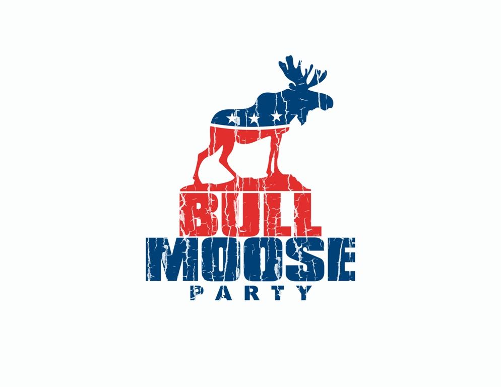Logo Design by Juan_Kata - Entry No. 60 in the Logo Design Contest Progressive Bull Moose Party Logo Design.