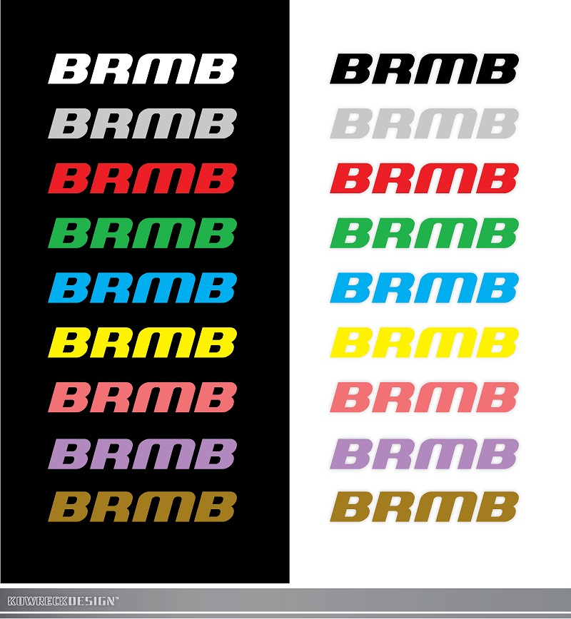 Logo Design by kowreck - Entry No. 104 in the Logo Design Contest Fun Logo Design for BRMB.