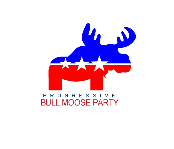Logo Design by Private User - Entry No. 72 in the Logo Design Contest Progressive Bull Moose Party Logo Design.