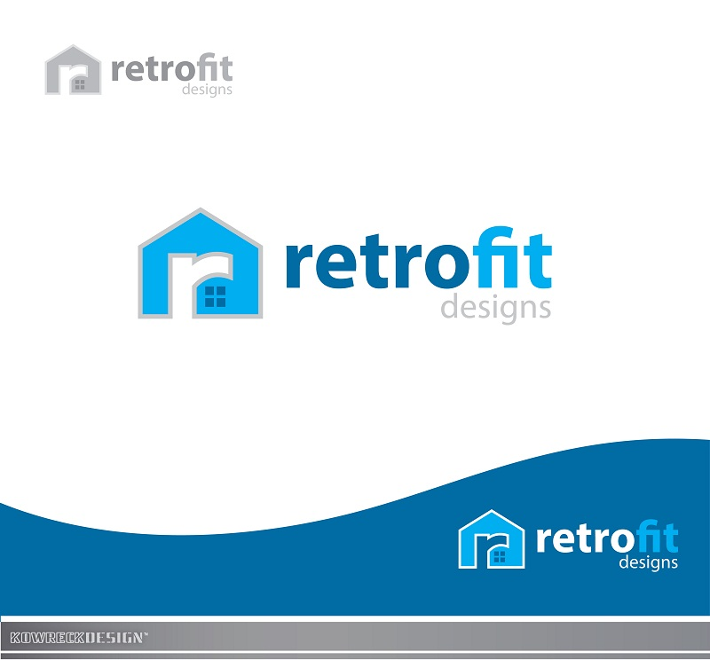 Logo Design by kowreck - Entry No. 54 in the Logo Design Contest Inspiring Logo Design for retrofit design.