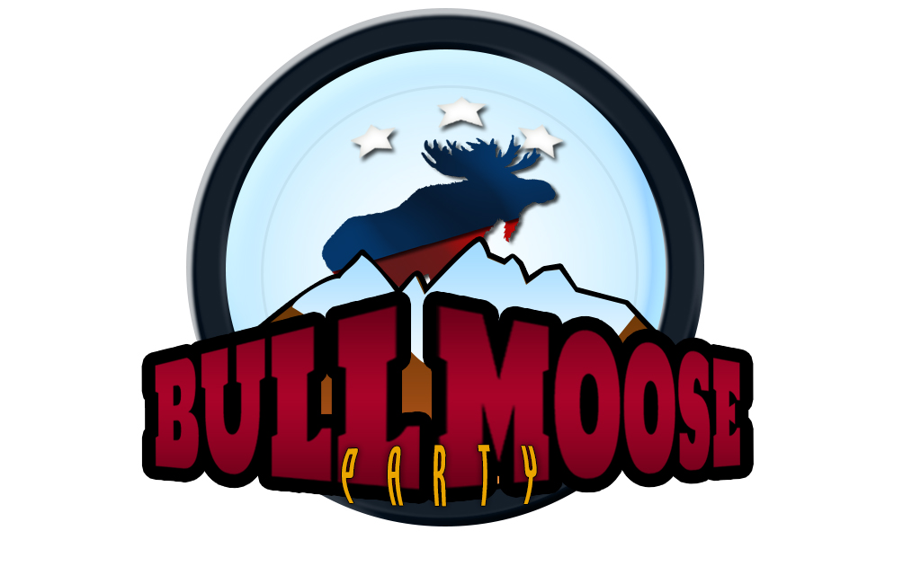 Logo Design by drunkman - Entry No. 81 in the Logo Design Contest Progressive Bull Moose Party Logo Design.