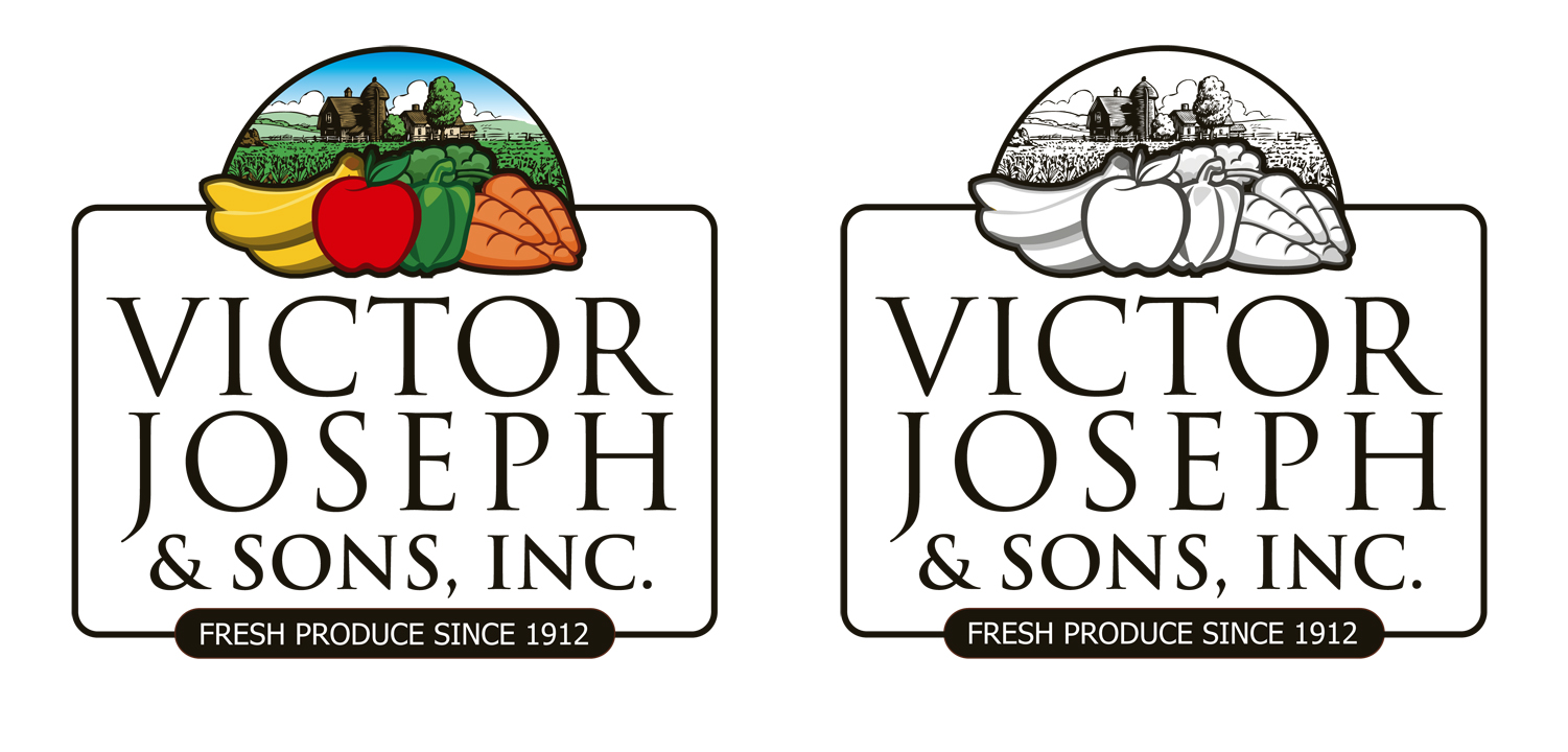 Logo Design by moidgreat - Entry No. 189 in the Logo Design Contest Imaginative Logo Design for Victor Joseph & Son, Inc..