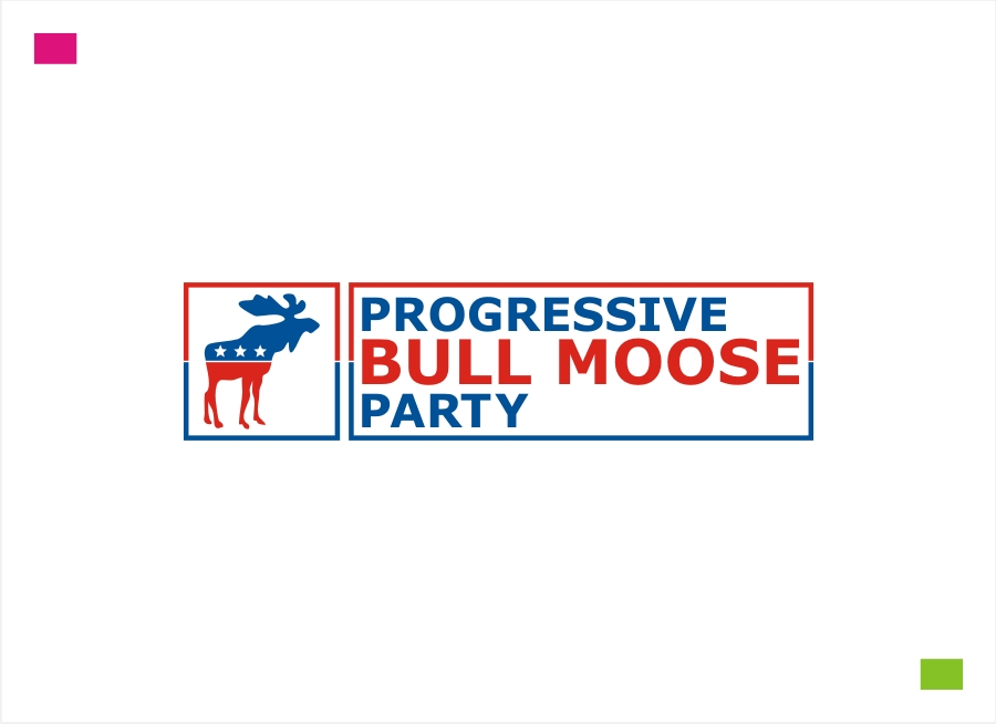 Logo Design by Private User - Entry No. 91 in the Logo Design Contest Progressive Bull Moose Party Logo Design.