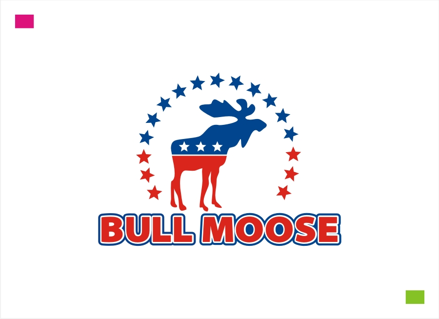 Logo Design by Private User - Entry No. 95 in the Logo Design Contest Progressive Bull Moose Party Logo Design.