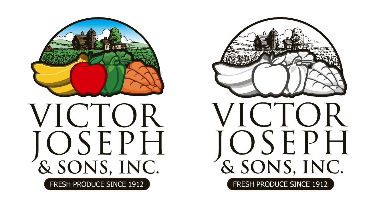 Logo Design by moidgreat - Entry No. 191 in the Logo Design Contest Imaginative Logo Design for Victor Joseph & Son, Inc..