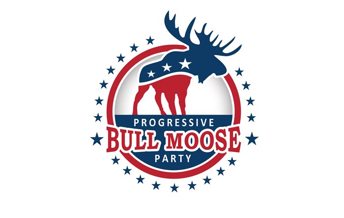Logo Design by Respati Himawan - Entry No. 103 in the Logo Design Contest Progressive Bull Moose Party Logo Design.