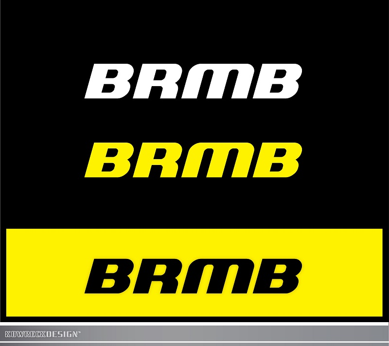 Logo Design by kowreck - Entry No. 130 in the Logo Design Contest Fun Logo Design for BRMB.