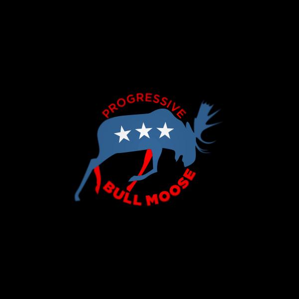 Logo Design by Private User - Entry No. 117 in the Logo Design Contest Progressive Bull Moose Party Logo Design.