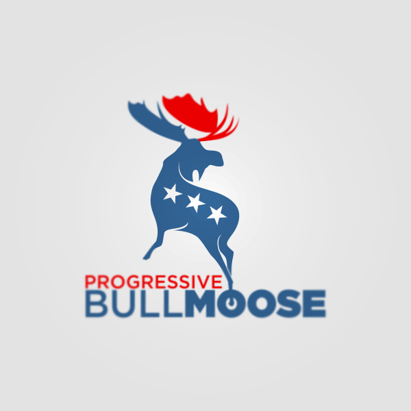 Logo Design by Private User - Entry No. 121 in the Logo Design Contest Progressive Bull Moose Party Logo Design.