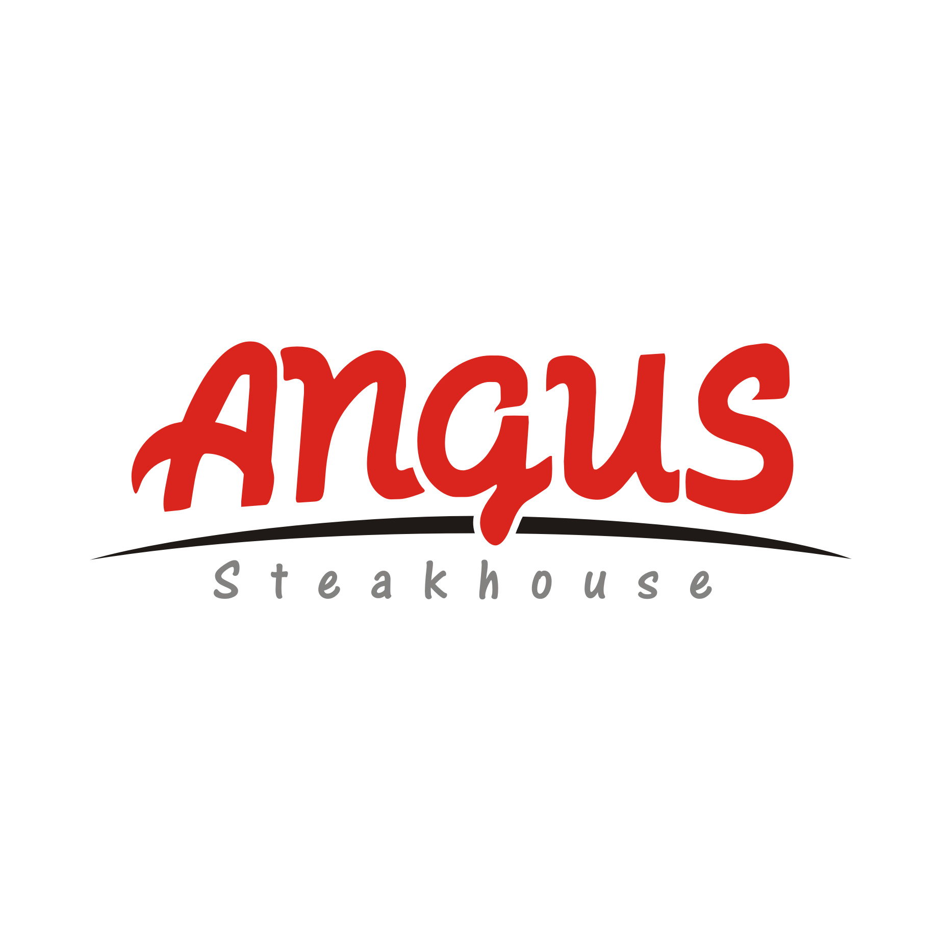 Logo Design by Private User - Entry No. 1 in the Logo Design Contest Imaginative Custom Design for Angus Steakhouse.