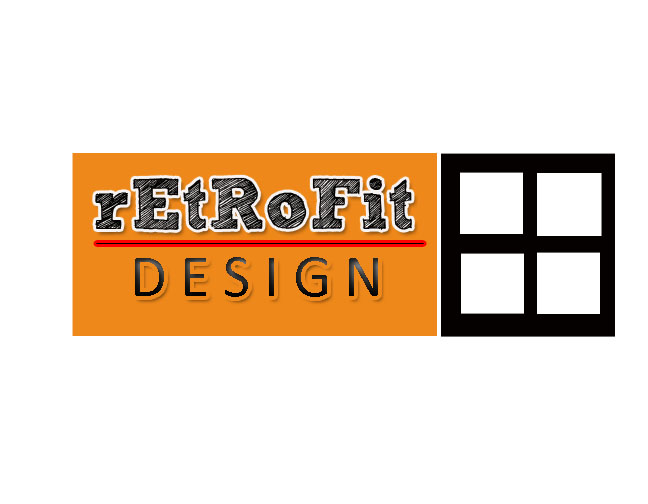 Logo Design by Cynthia Anne Hernandez - Entry No. 68 in the Logo Design Contest Inspiring Logo Design for retrofit design.