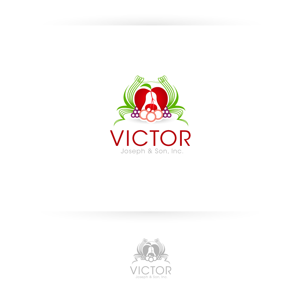 Logo Design by zesthar - Entry No. 200 in the Logo Design Contest Imaginative Logo Design for Victor Joseph & Son, Inc..
