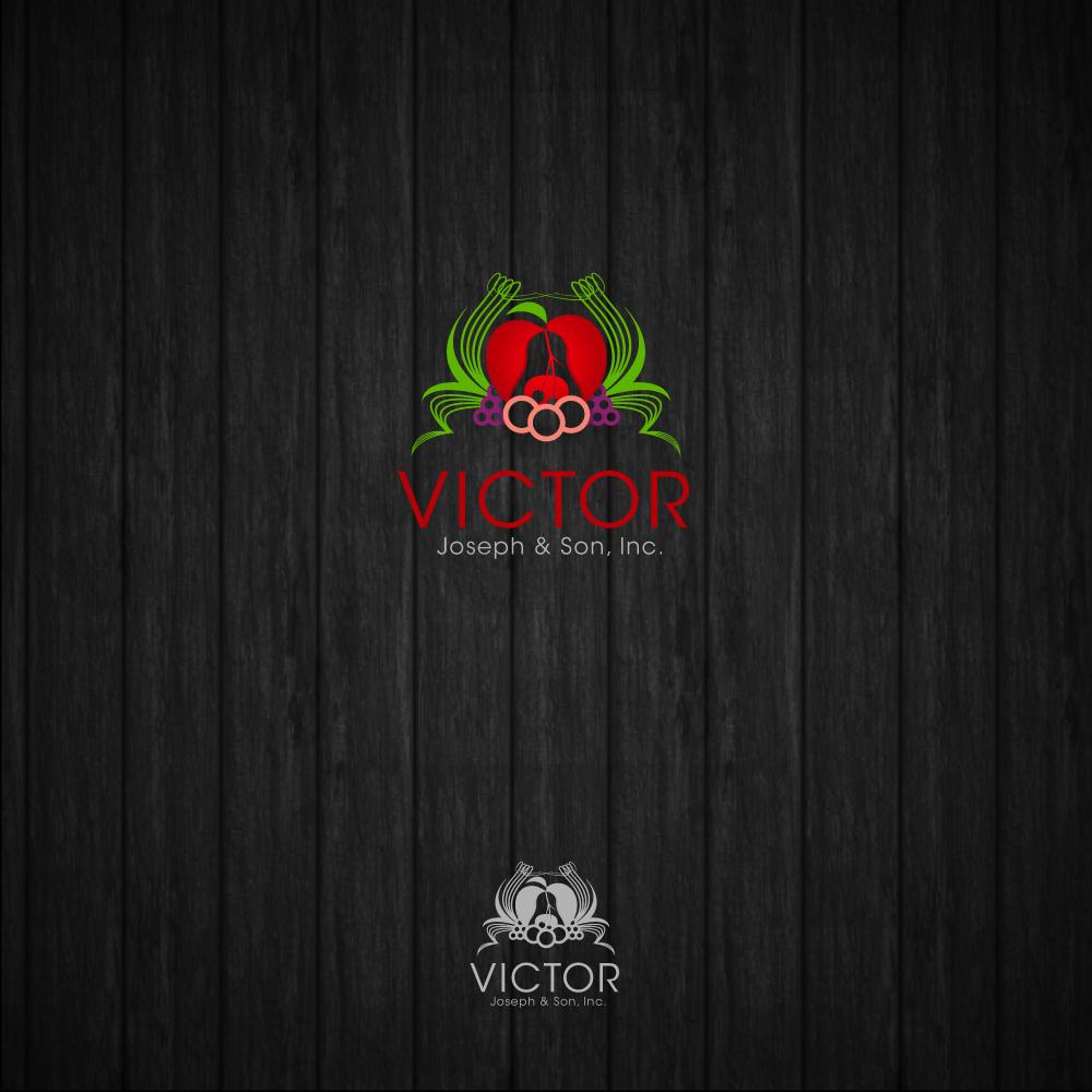 Logo Design by zesthar - Entry No. 201 in the Logo Design Contest Imaginative Logo Design for Victor Joseph & Son, Inc..