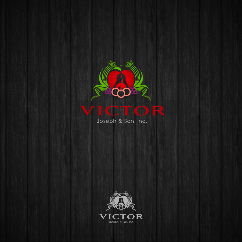 Logo Design by zesthar - Entry No. 202 in the Logo Design Contest Imaginative Logo Design for Victor Joseph & Son, Inc..
