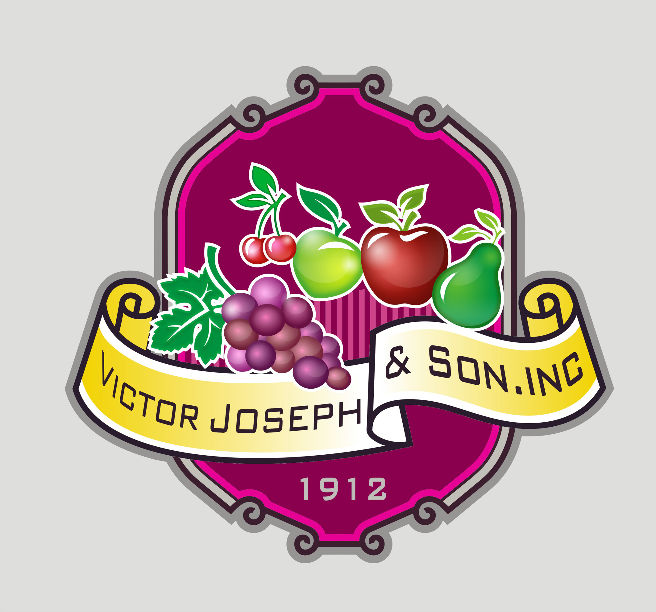 Logo Design by Private User - Entry No. 204 in the Logo Design Contest Imaginative Logo Design for Victor Joseph & Son, Inc..