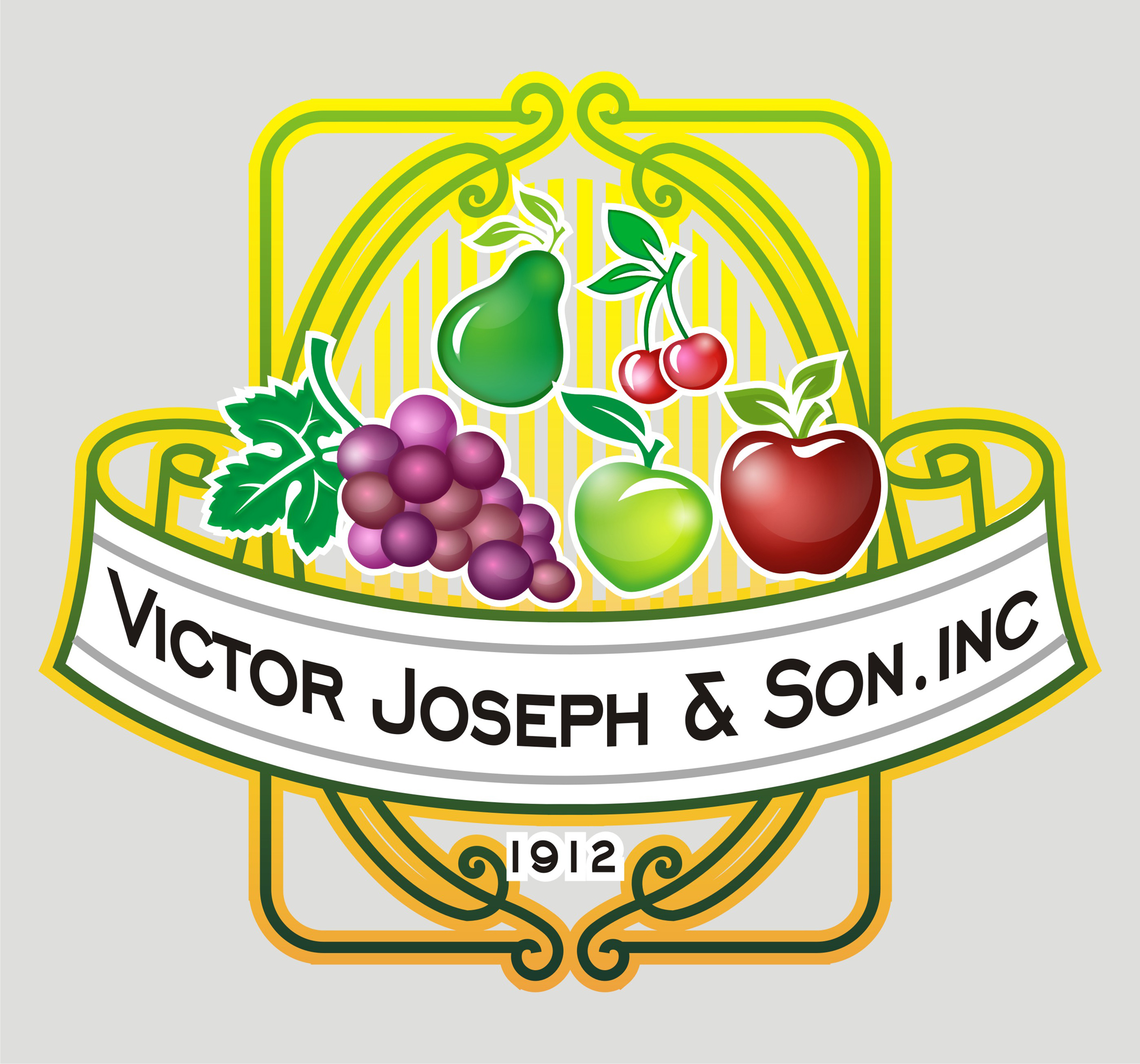 Logo Design by Private User - Entry No. 205 in the Logo Design Contest Imaginative Logo Design for Victor Joseph & Son, Inc..