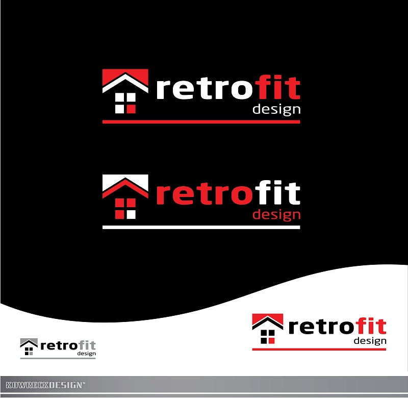 Logo Design by kowreck - Entry No. 76 in the Logo Design Contest Inspiring Logo Design for retrofit design.
