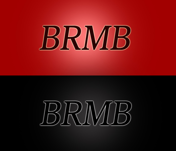 Logo Design by Ram Designer - Entry No. 151 in the Logo Design Contest Fun Logo Design for BRMB.