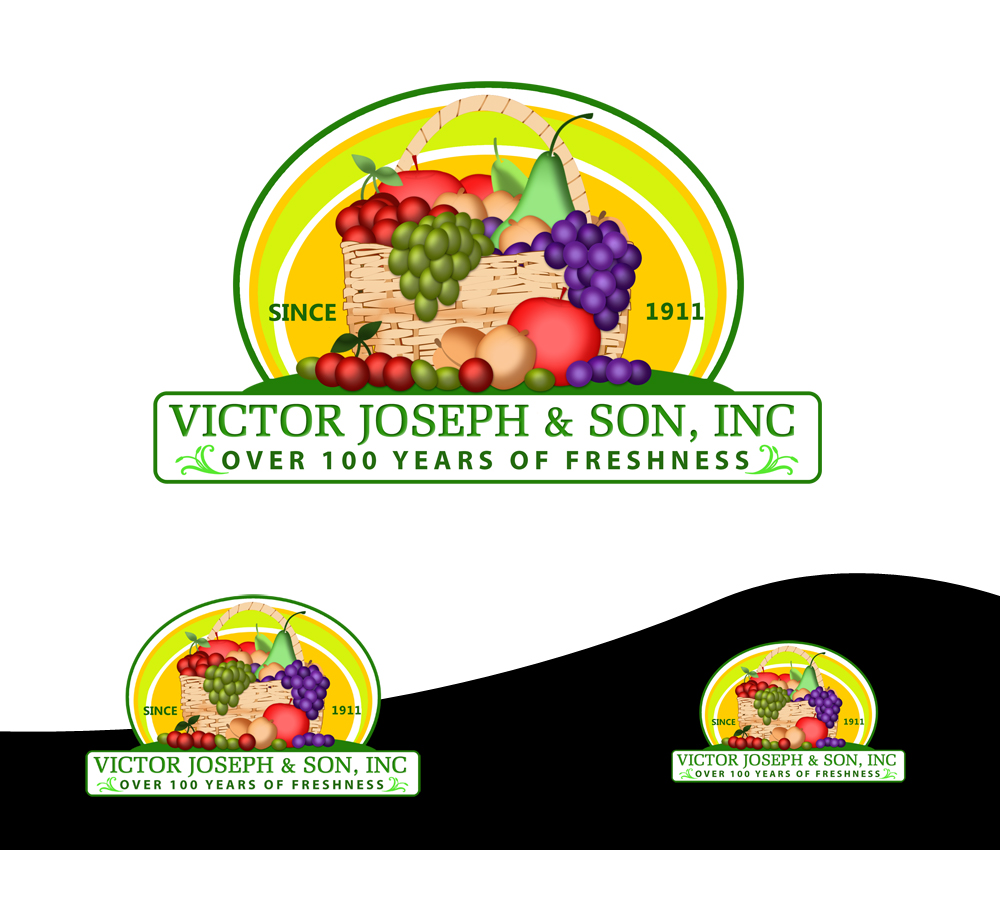 Logo Design by Private User - Entry No. 218 in the Logo Design Contest Imaginative Logo Design for Victor Joseph & Son, Inc..