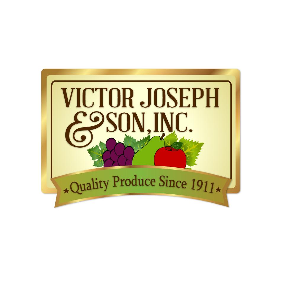 Logo Design by moonflower - Entry No. 233 in the Logo Design Contest Imaginative Logo Design for Victor Joseph & Son, Inc..