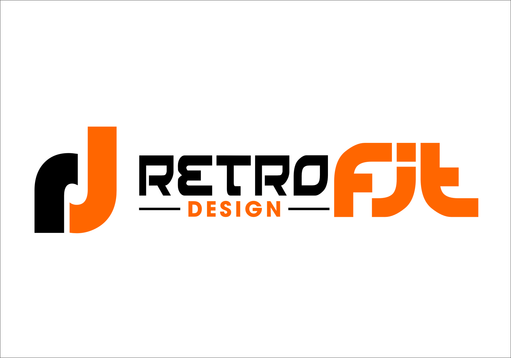Logo Design by RasYa Muhammad Athaya - Entry No. 91 in the Logo Design Contest Inspiring Logo Design for retrofit design.