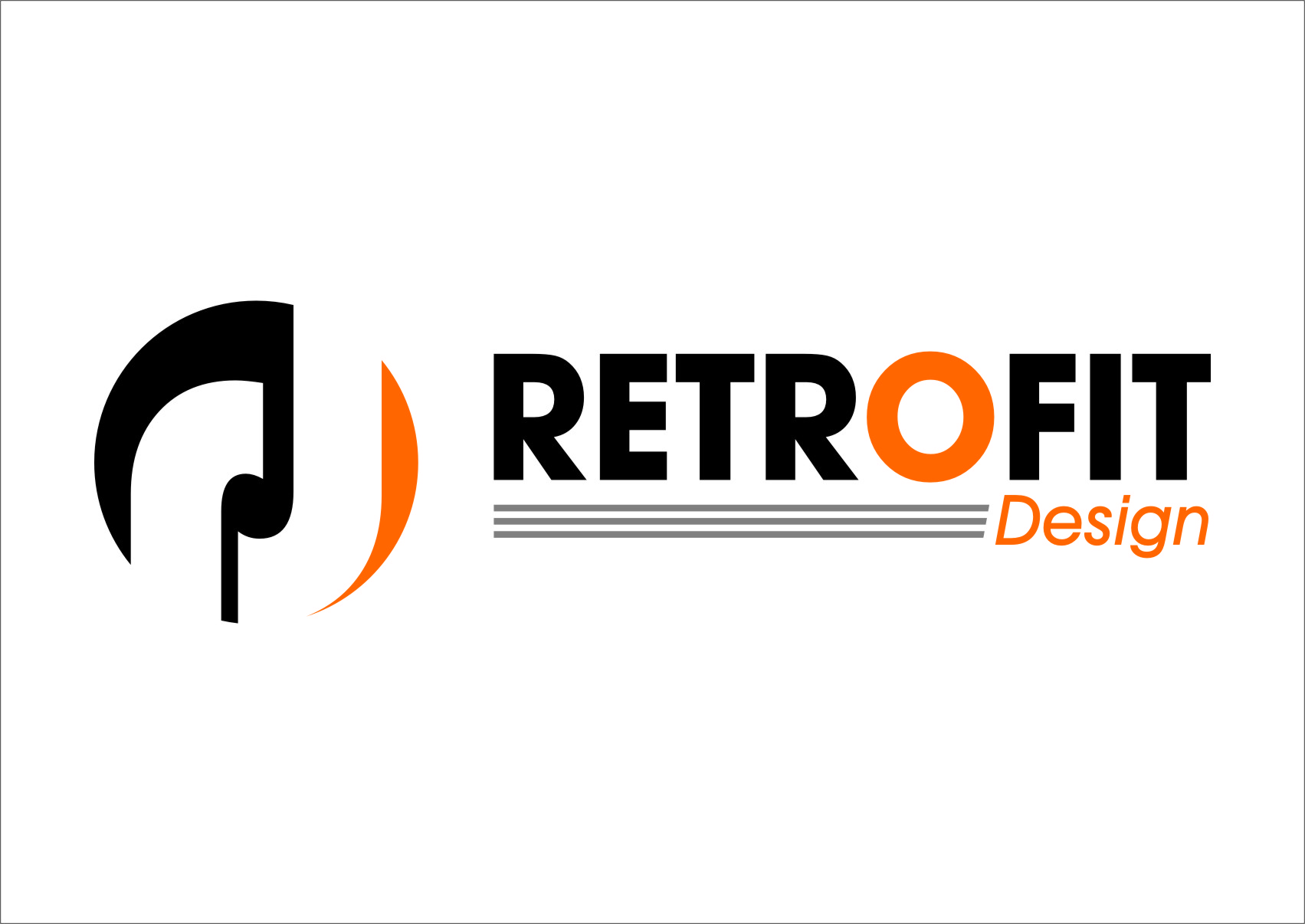 Logo Design by RasYa Muhammad Athaya - Entry No. 93 in the Logo Design Contest Inspiring Logo Design for retrofit design.