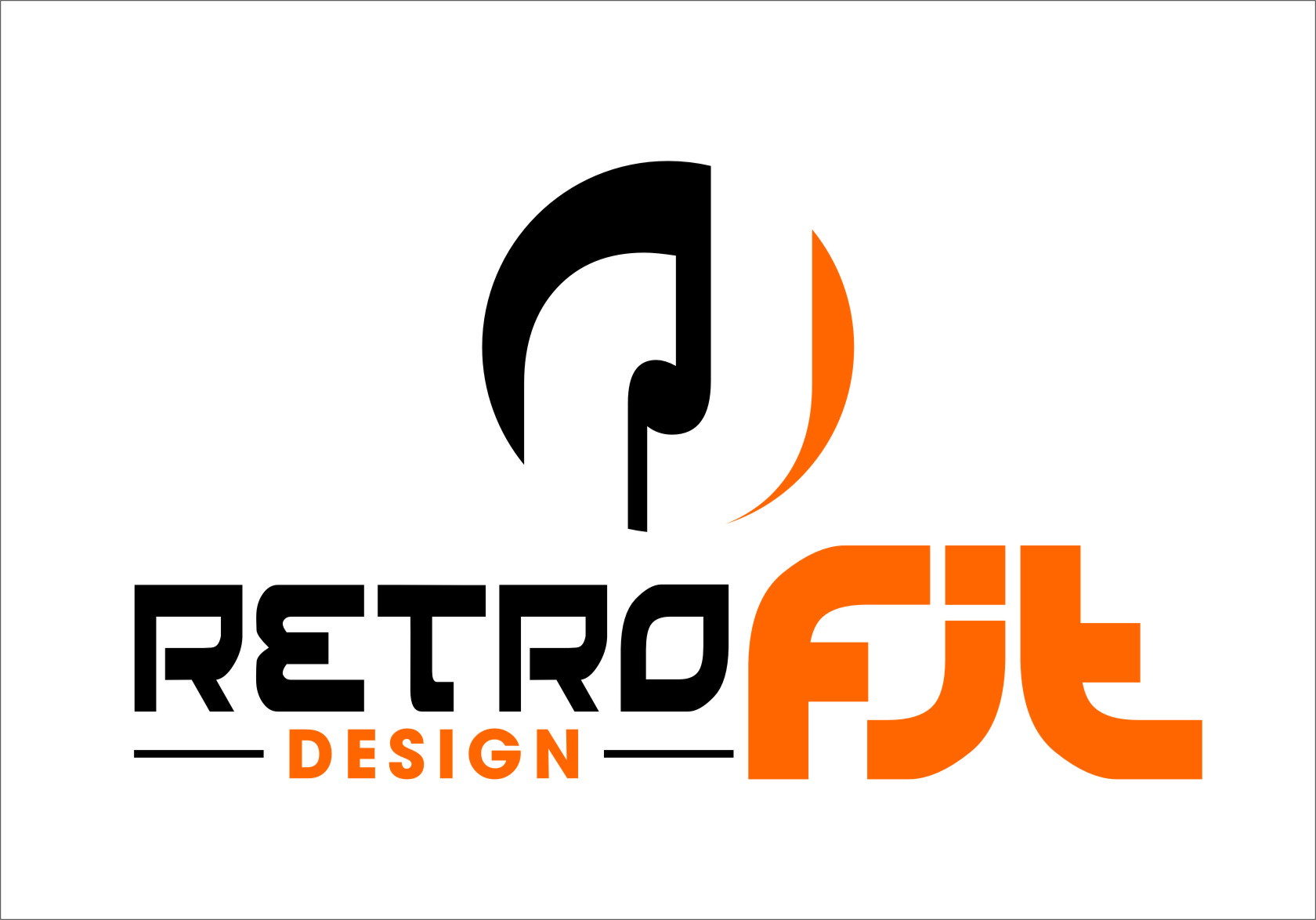 Logo Design by RasYa Muhammad Athaya - Entry No. 94 in the Logo Design Contest Inspiring Logo Design for retrofit design.