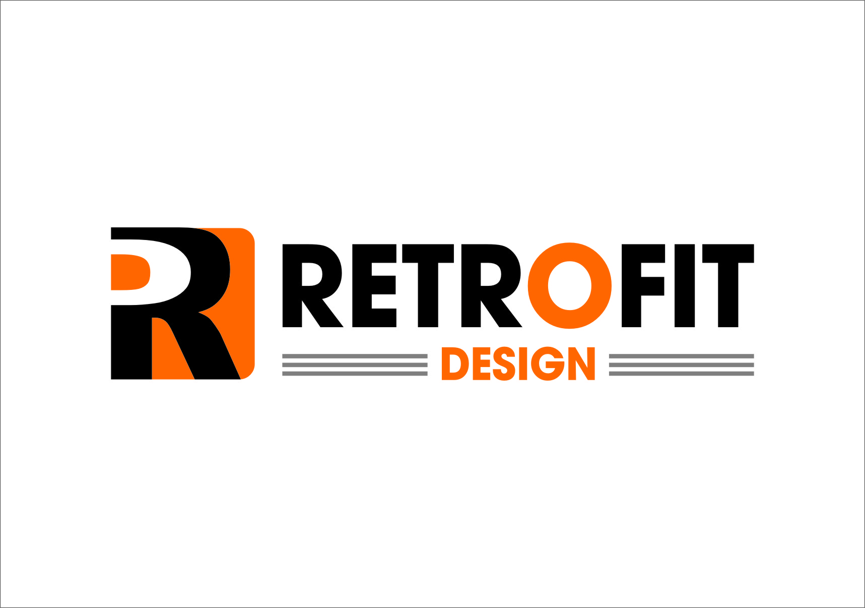 Logo Design by RasYa Muhammad Athaya - Entry No. 95 in the Logo Design Contest Inspiring Logo Design for retrofit design.