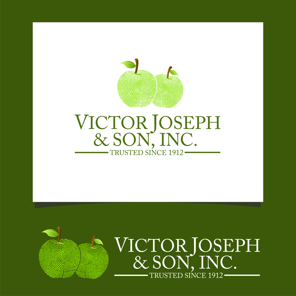 Logo Design by omARTist - Entry No. 235 in the Logo Design Contest Imaginative Logo Design for Victor Joseph & Son, Inc..