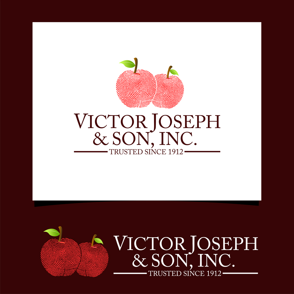 Logo Design by omARTist - Entry No. 236 in the Logo Design Contest Imaginative Logo Design for Victor Joseph & Son, Inc..