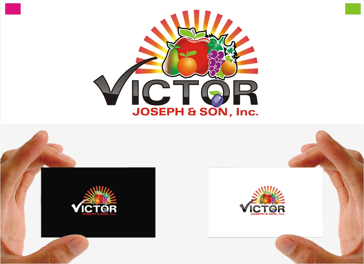 Logo Design by Private User - Entry No. 238 in the Logo Design Contest Imaginative Logo Design for Victor Joseph & Son, Inc..