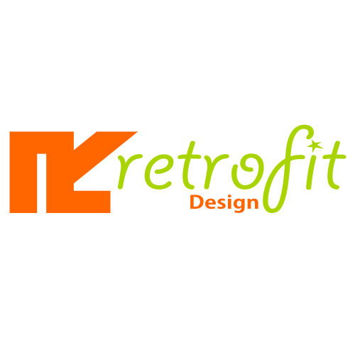 Logo Design by Ben ali Fethi - Entry No. 98 in the Logo Design Contest Inspiring Logo Design for retrofit design.