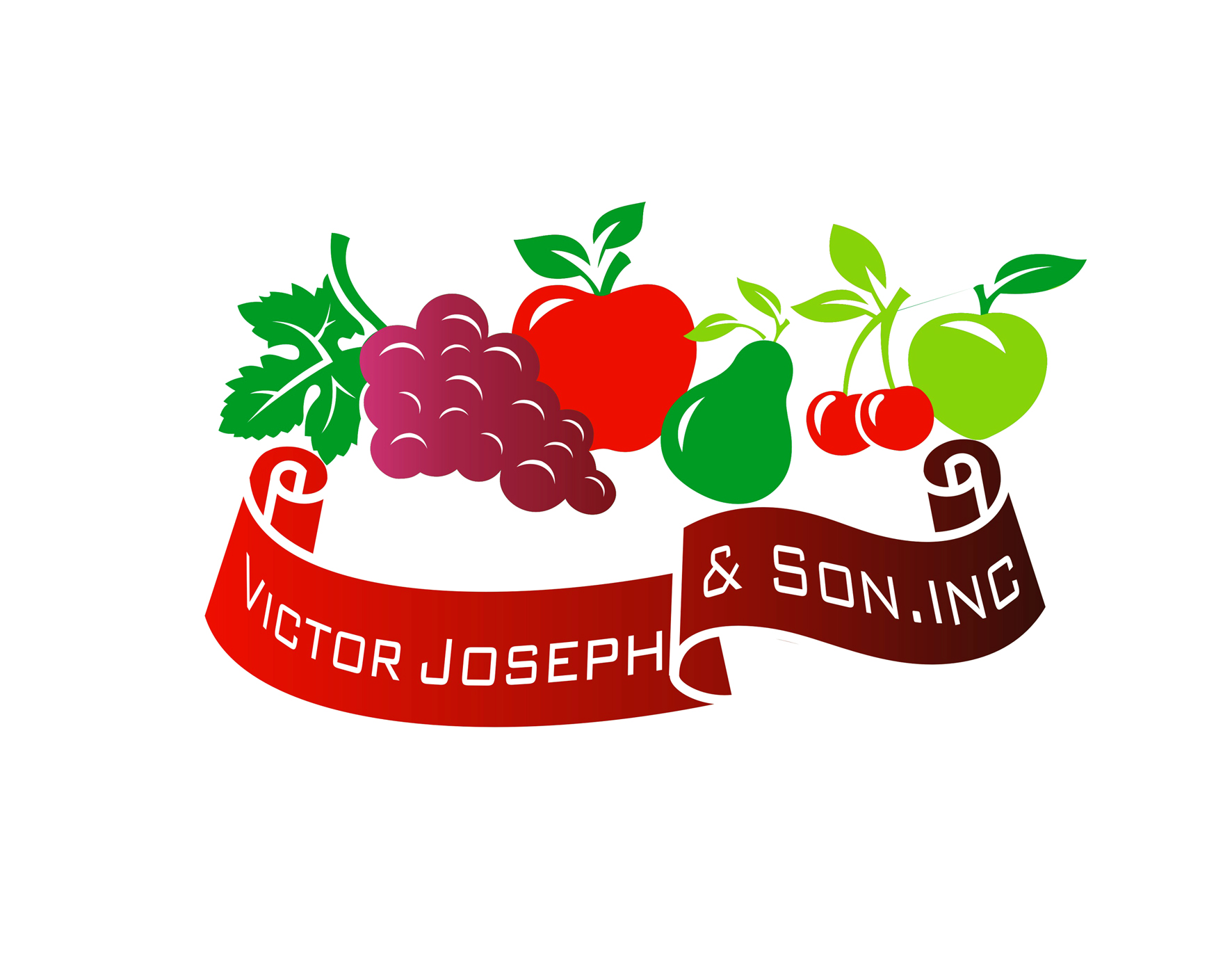 Logo Design by Private User - Entry No. 244 in the Logo Design Contest Imaginative Logo Design for Victor Joseph & Son, Inc..