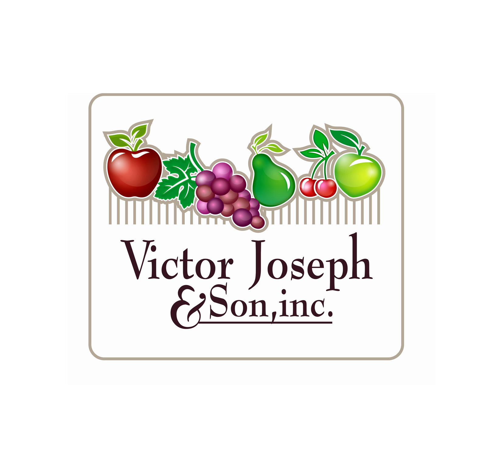 Logo Design by Private User - Entry No. 246 in the Logo Design Contest Imaginative Logo Design for Victor Joseph & Son, Inc..