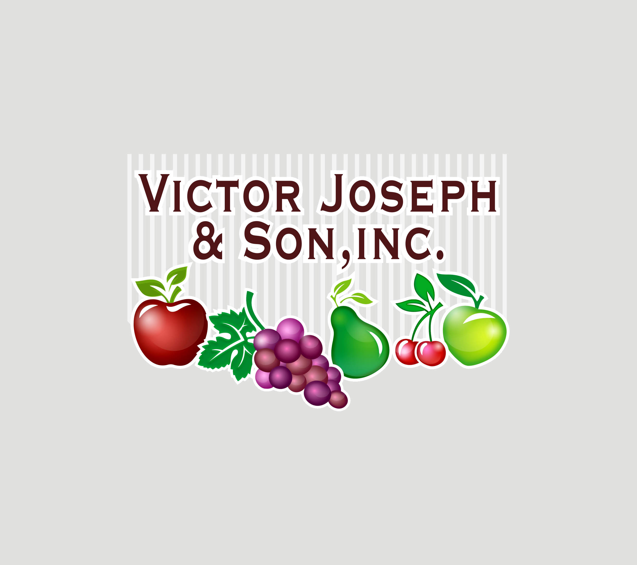 Logo Design by Private User - Entry No. 247 in the Logo Design Contest Imaginative Logo Design for Victor Joseph & Son, Inc..