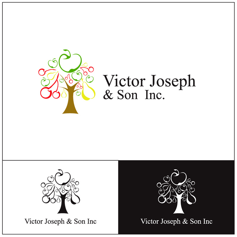 Logo Design by Adrian Chambre - Entry No. 248 in the Logo Design Contest Imaginative Logo Design for Victor Joseph & Son, Inc..