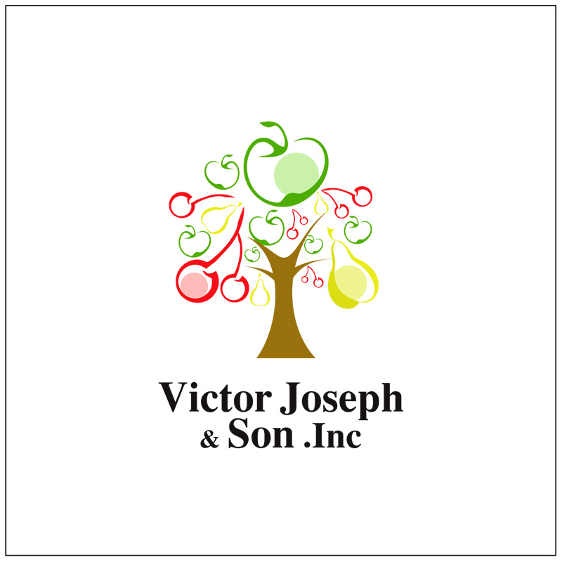 Logo Design by Adrian Chambre - Entry No. 249 in the Logo Design Contest Imaginative Logo Design for Victor Joseph & Son, Inc..