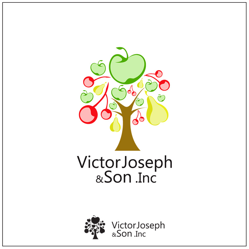 Logo Design by Adrian Chambre - Entry No. 250 in the Logo Design Contest Imaginative Logo Design for Victor Joseph & Son, Inc..