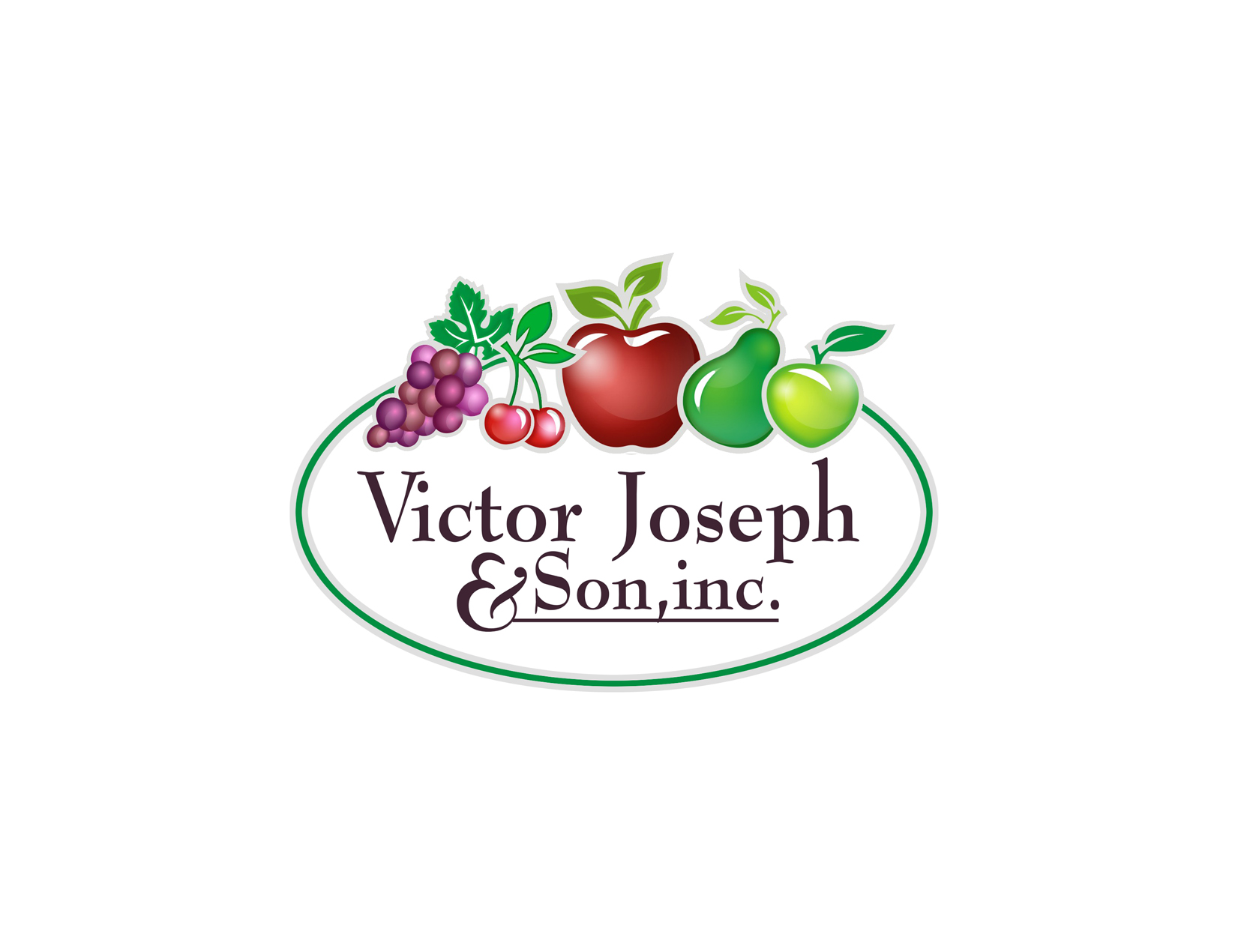 Logo Design by Private User - Entry No. 251 in the Logo Design Contest Imaginative Logo Design for Victor Joseph & Son, Inc..