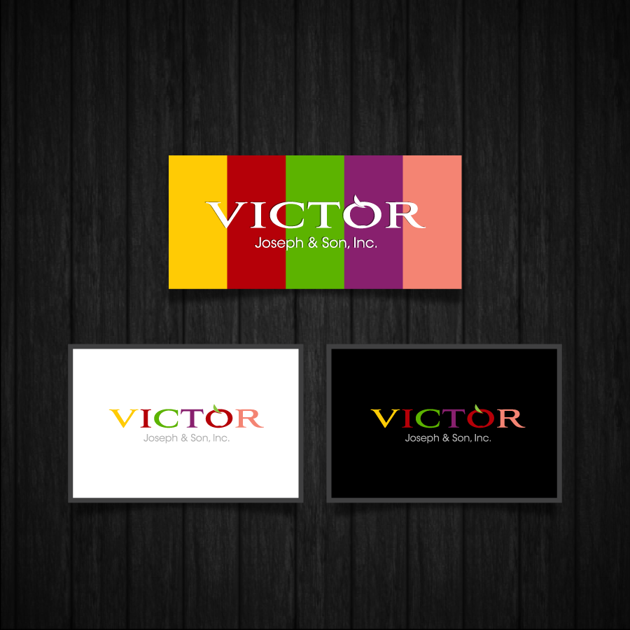 Logo Design by zesthar - Entry No. 252 in the Logo Design Contest Imaginative Logo Design for Victor Joseph & Son, Inc..