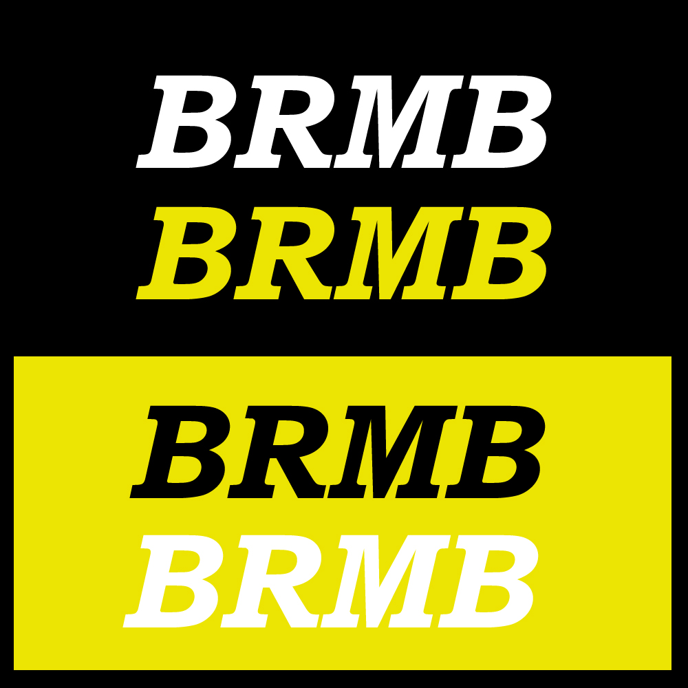 Logo Design by omARTist - Entry No. 168 in the Logo Design Contest Fun Logo Design for BRMB.